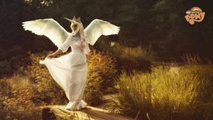 Princess Celestia by AnnetVoronaya