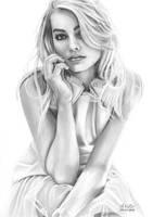 Margot Robbie by M-Kutbi