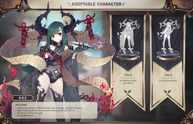 [CLOSED] Adoptable - 002 by Teddytumbo