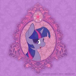 Vintage Ponies | Twilight Sparkle by argibi