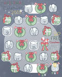 Christmas Calendar Raffle (OPEN) by mandytheraccoon