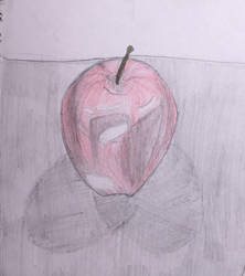 Just an apple by Spiderfrost101