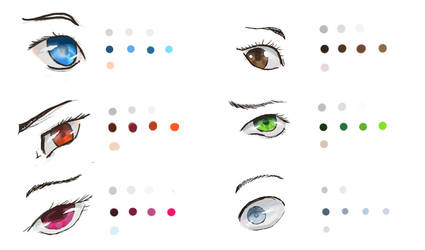 Eye Coloring Practice 01 by Patchy9