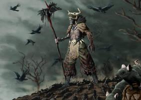 Artwar 2 (Dark) : Pestilence Bringer by ThomasConvers
