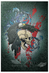 Eagle and Skull by greenfeed