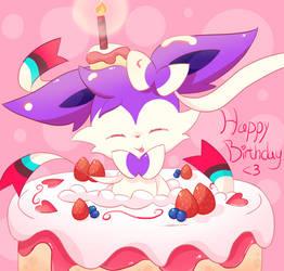 Happy Birthday Cress by FairyJonke