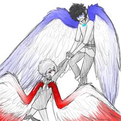 I'll teach you to fly by FyreRain