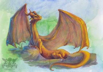 Dragon by Penny-Dragon