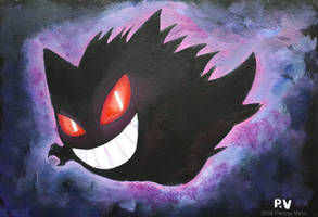 Draw me a Gengar by Penny-Dragon