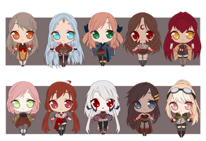 Set Price Adopt Batch 7(CLOSED) by KasuCat-Adopts
