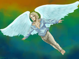 Celestial Angel by Alsheeny