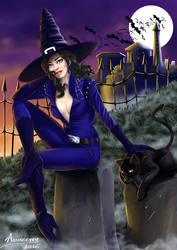 Witch - Halloween 2015 by Alsheeny