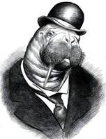 19th. Century Walrus by OddManOutPress