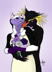 Oreo's Wedding Gift by amusedinsanity
