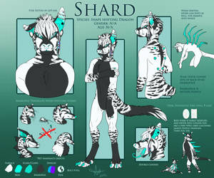 Shard Reference Sheet by amusedinsanity