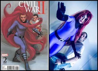 Civil War II - Medusa and Ulysses by ReginaIt