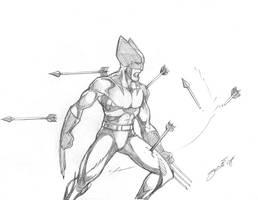 Wolverine sketch by dennissweatt
