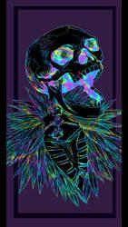 Skeleton Kravitz by joshine96