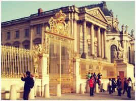 Versailles - golden gate by SeiMissTake