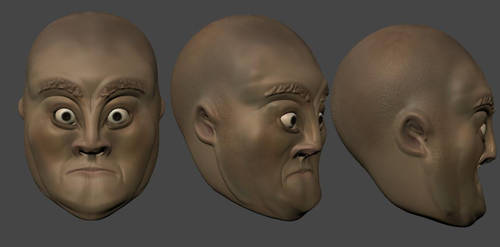 Sculpt Head 20111120 by mcunha98