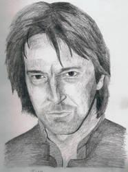 Alan Rickman by HJSnapePM by rickmaniacs