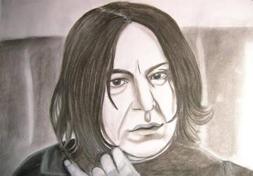 Snape by GothBarbie by rickmaniacs