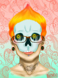 All the Skeletons Have Glasses Now by OokamiCasha