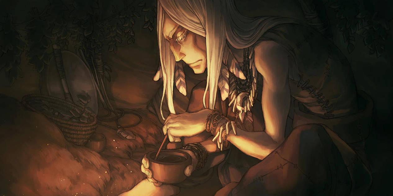 The Herbalist by kinixuki