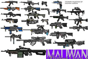 Maliwan SMG Sketches Design Weapons Sketches Guns