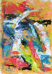 Breach - Acrylic Abstract by psycopix by psycopix