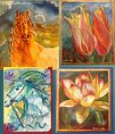Handmade Cards by psycopix
