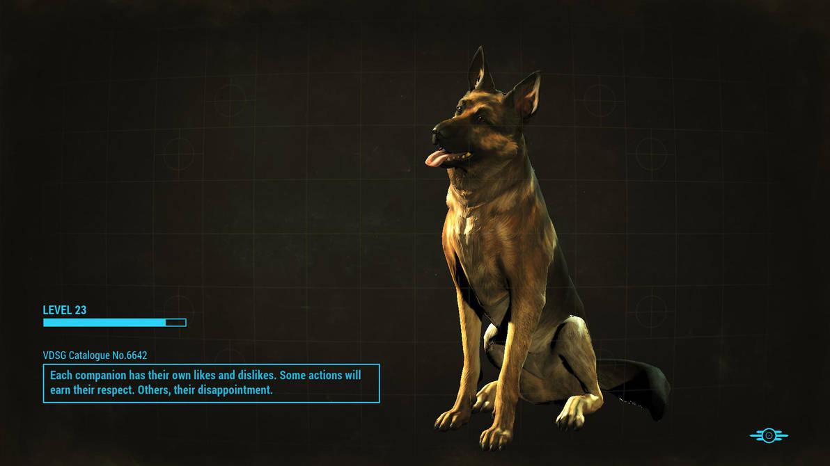 Fallout 4: Dogmeat by psycopix