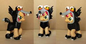 Babs Seed wolf costume custom by atelok
