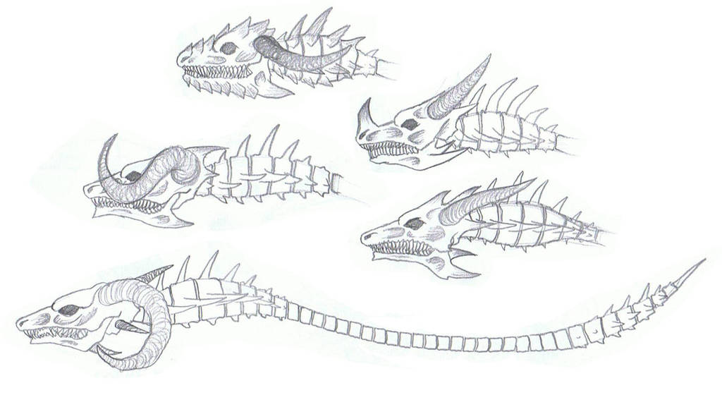 Dragonspine Warlock Staff Idea by Awesometacious