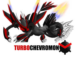 TURBOChevromon by Awesometacious