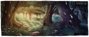 Forest3 by Iraville