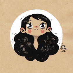 little portrait by Iraville