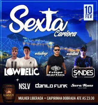 Sexta Carioca by xDesigner1