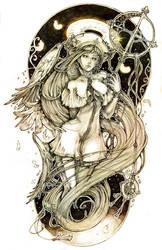 The Blind Angel by Amdhuscias