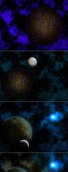 Unknown Star - Process Steps by ToRi-V