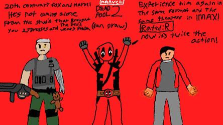 Deadpool 2 (2018) Fan-Draw by Nathan750