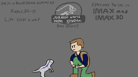 Jurassic world: Fallen kingdom (2018) Fan-Draw by Nathan750