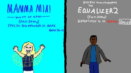 Mamma mia!: HWGA (2018) and The equalizer 2 (2018) by Nathan750