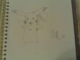 Pikachu by jolteonz9087
