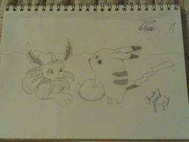 Chibi friends by jolteonz9087