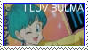 Bulma stamp by Miho-Nosaka-stamps