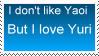 Don't like yaoi but love yuri by Miho-Nosaka-stamps