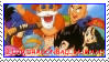 Dragonball humans stamps by Miho-Nosaka-stamps
