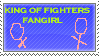 King of Fighters stamp by Miho-Nosaka-stamps