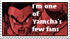 I'm Yamcha's fan stamp by Miho-Nosaka-stamps